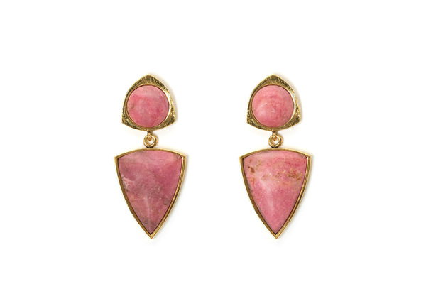 Lizzie Fortunato Elegant Outlaw Earring