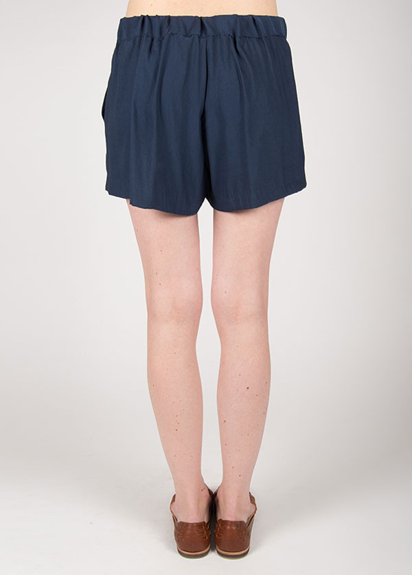 The West Is Dead Pleated Shorts