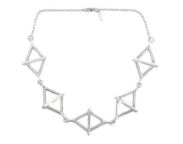 Pamela Love Multi Balance Collar in Antique Silver