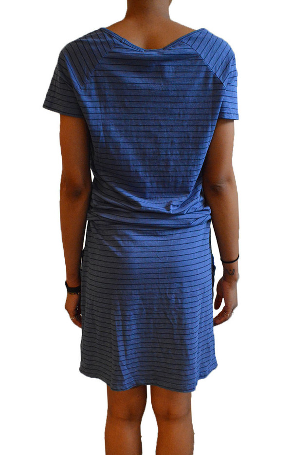 Sundry Stripe Pocket Dress