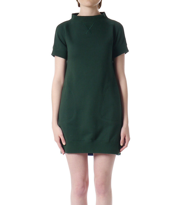 Sacai Luck Sweatshirt Dress