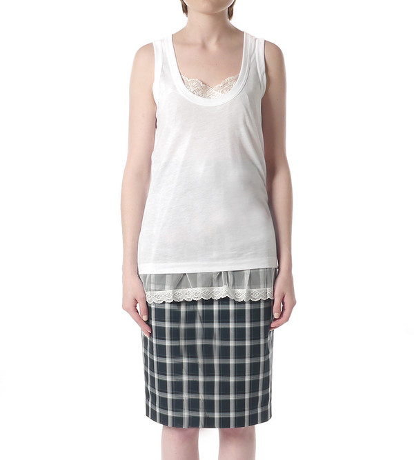Sacai Luck Lace Under Layer Tank Top