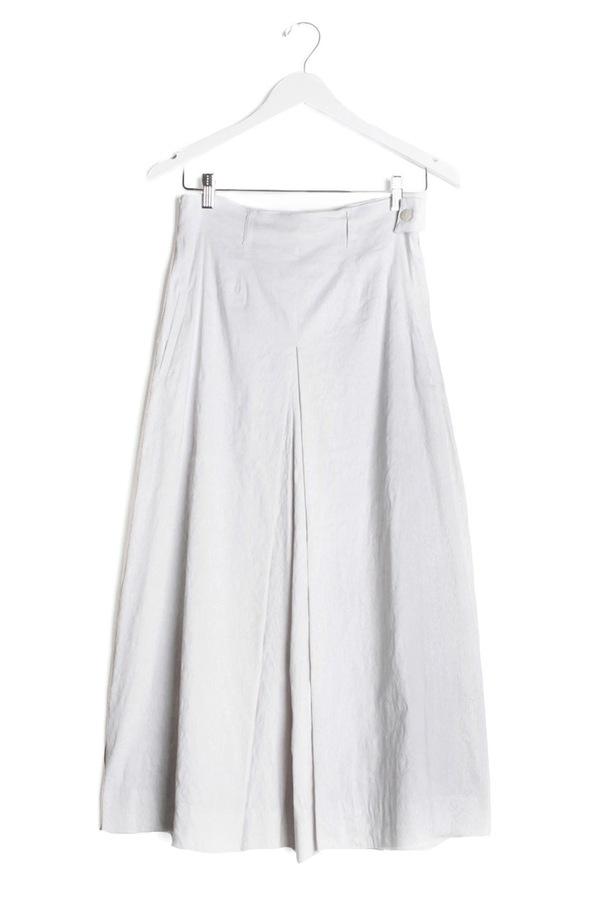 Kieley Kimmel Culotte Pant | white