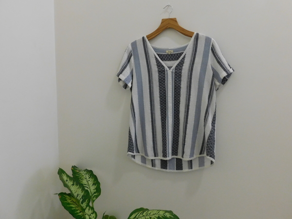 Yerse Striped Blouse