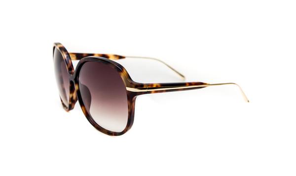 Linda Farrow x Prabal Gurung Oversized D-Frame Sunglasses