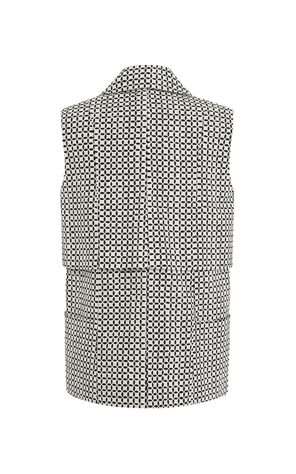 Suno Long Lapel Vest