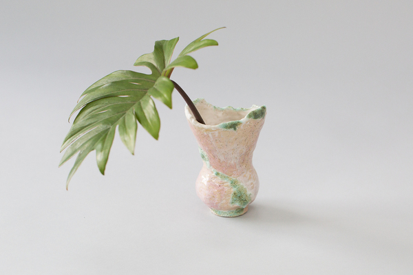 Minh's Green + Pink Vessel