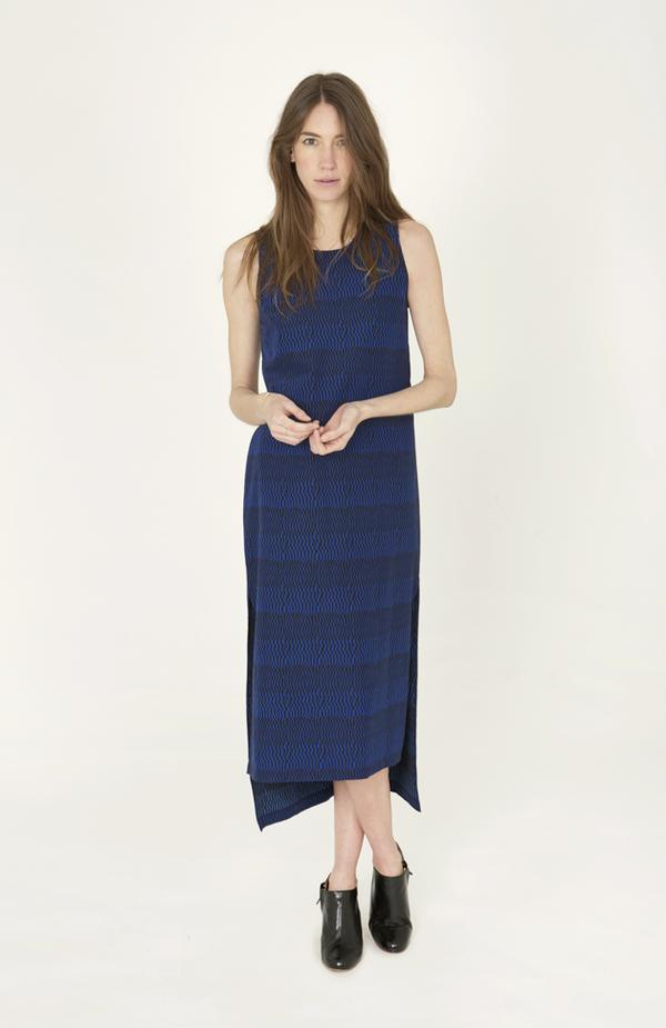 Ilana Kohn Mickey Dress Checks Print Dress