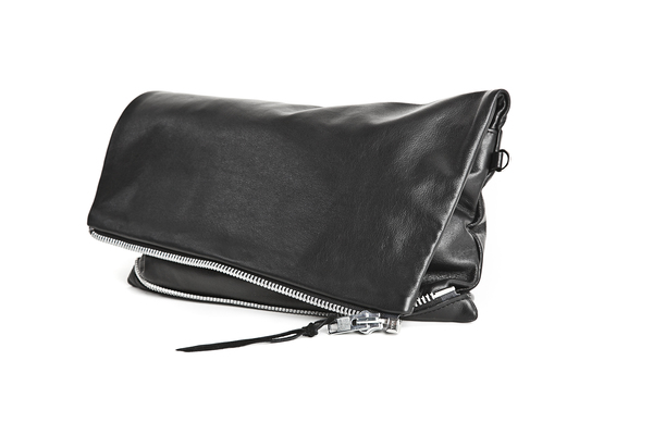 Mary Rich Oversized Leather Clutch
