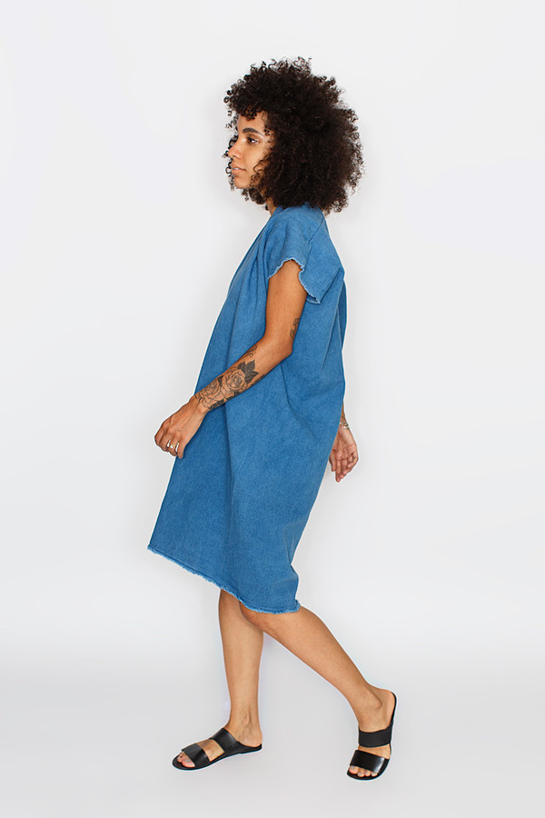 Miranda Bennett Everyday Dress | Cropped Denim