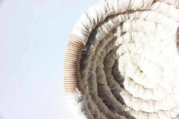 Miranda Bennett  Hand Woven Coil Basket