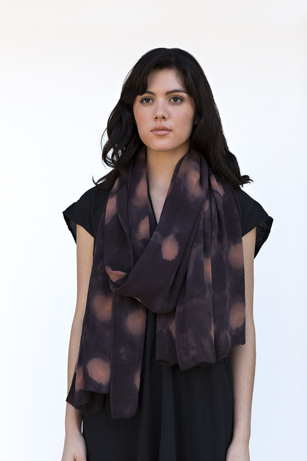 Night Cast Silk Wrap