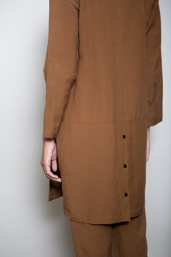 First Rite Mid Length Overcoat