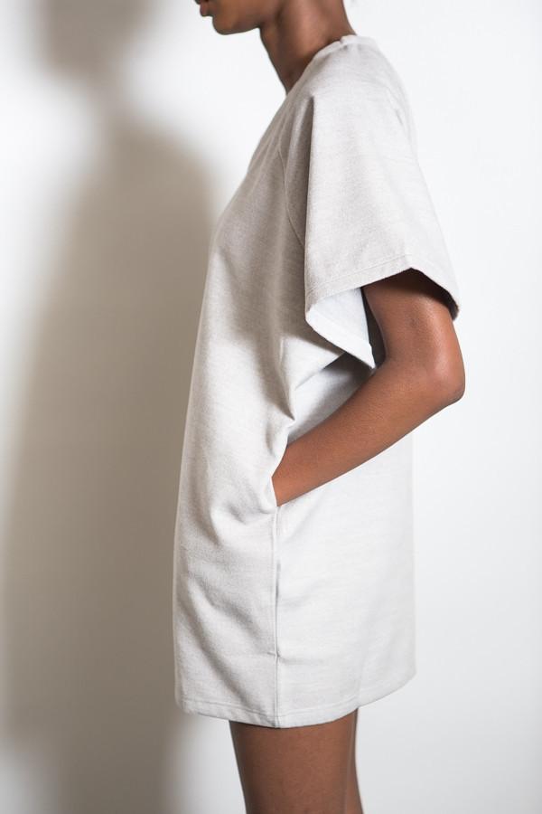 BLQ Basiq Over Size Boxy Wool Dress