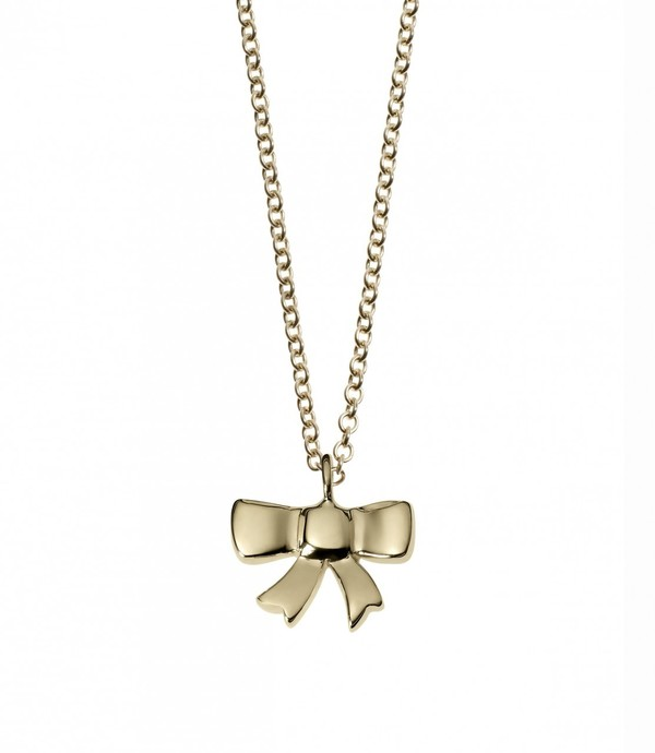 Minor Obsessions Bow Necklace