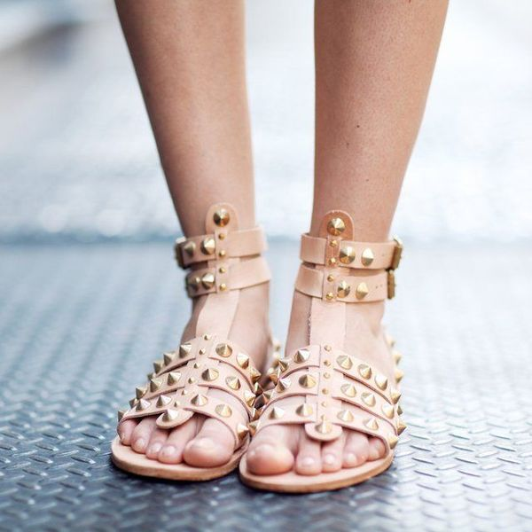 Anine Bing Studded Gladiator Sandal