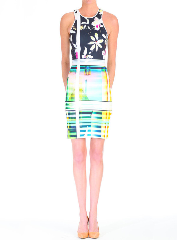 Clover Canyon Garden Plaid Dress