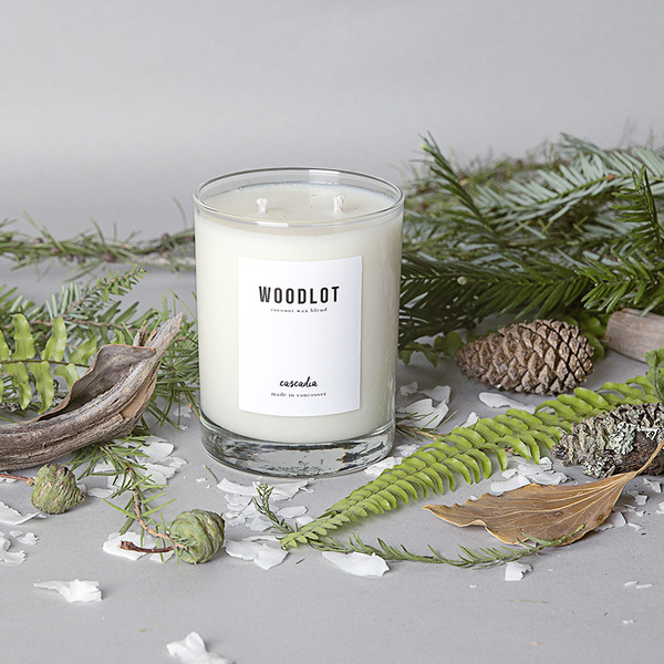 Woodlot Candle in Cascadia