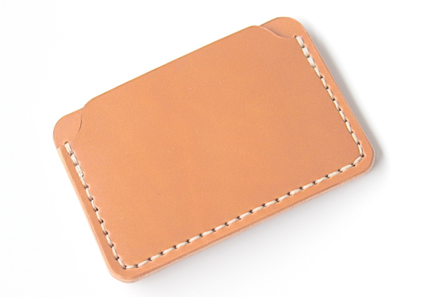 DW Leatherworks Card Wallet - Tan