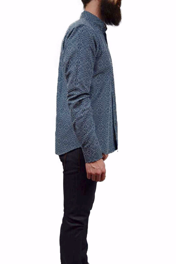 Men's Outclass Geometric Chambray Shirt