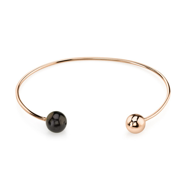 Gabriela Artigas Orbit & Black Pearl Cuff