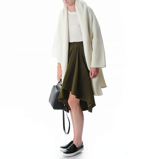 Lauren Manoogian Capote Coat | White