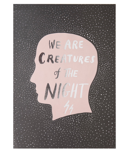 The Adventures Of...  Creatures of the Night Print