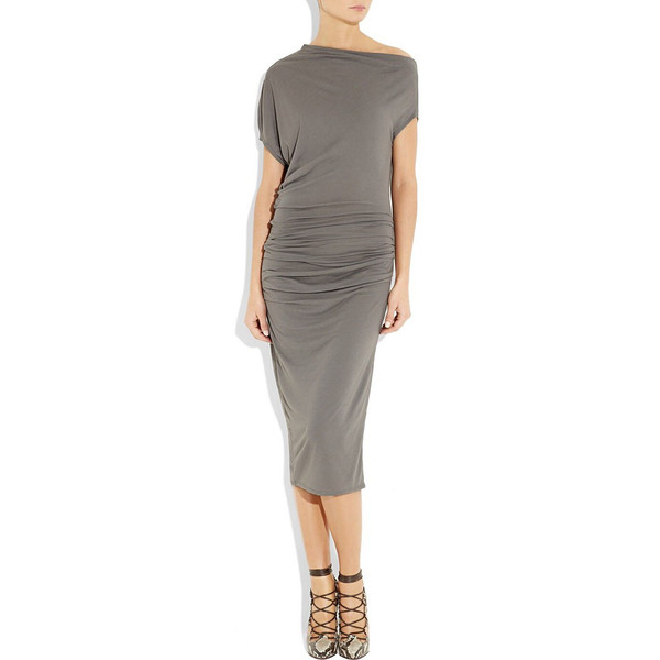 Over the knees jersey dress