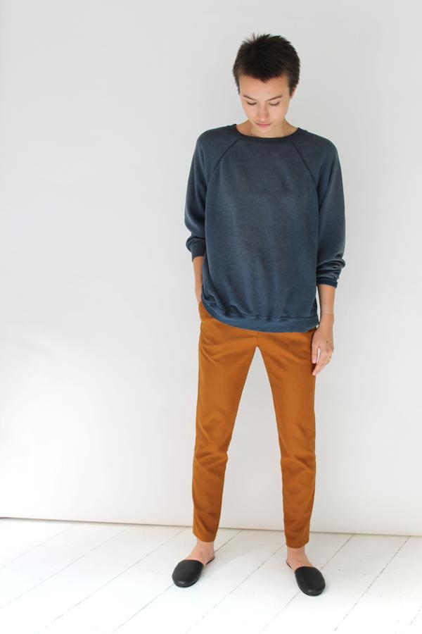 DUSEN DUSEN Pleated Pants   Copper