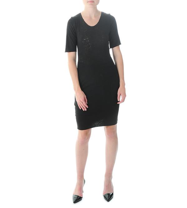 Raquel Allegra Short Sleeve Fitted Tee Dress