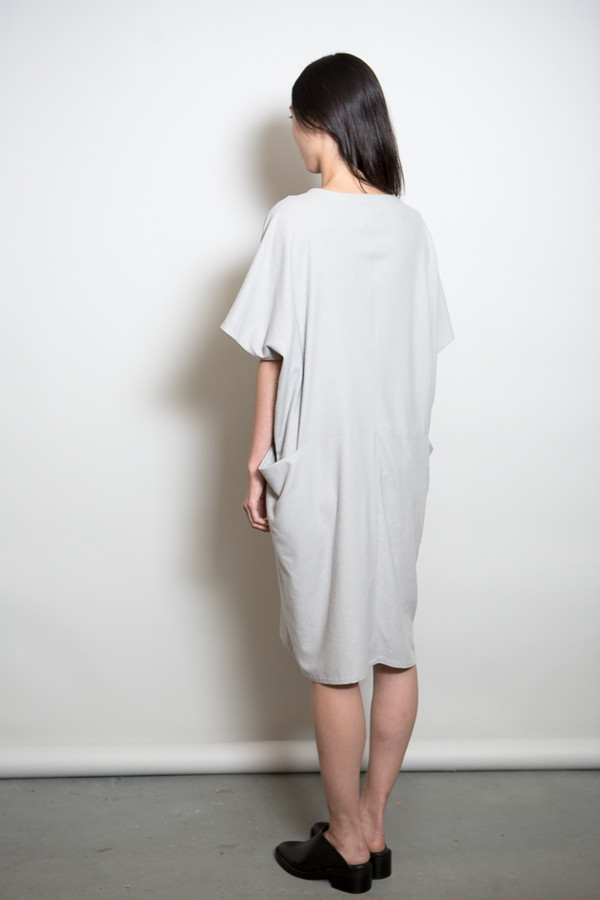 MAD Raw Silk Pocket Dress