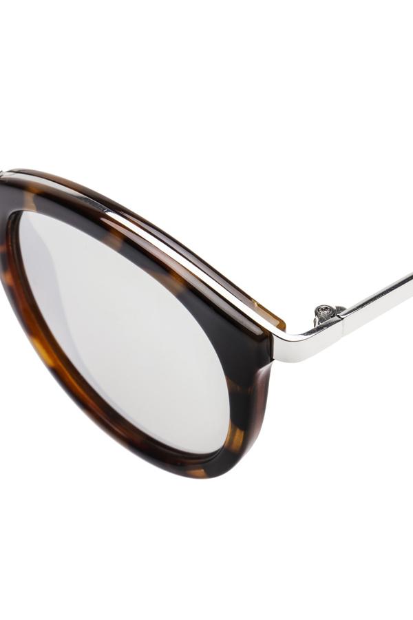 Le Specs No Smirking Sunglasses- Tort