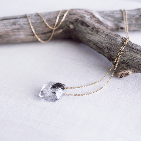 Clementine Herkimer Diamond Necklace