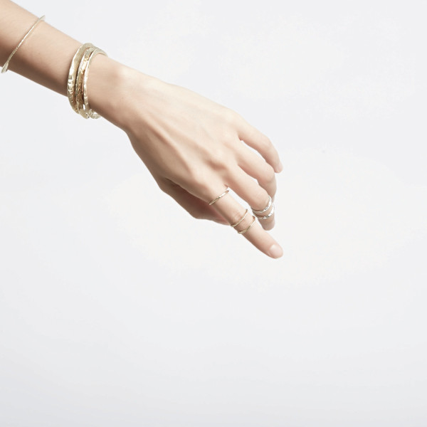 Odette New York RIDGE STACK RING