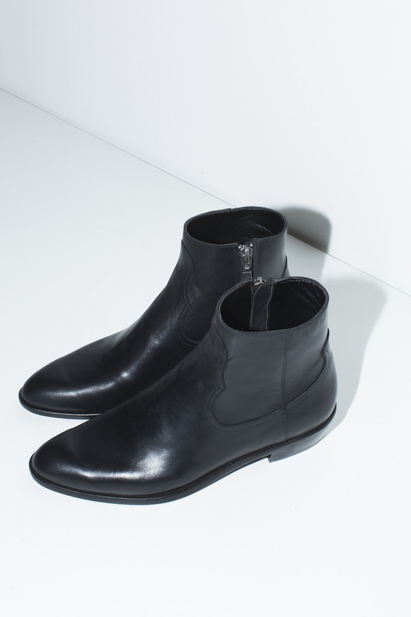 Assembly New York Black Flat Boot