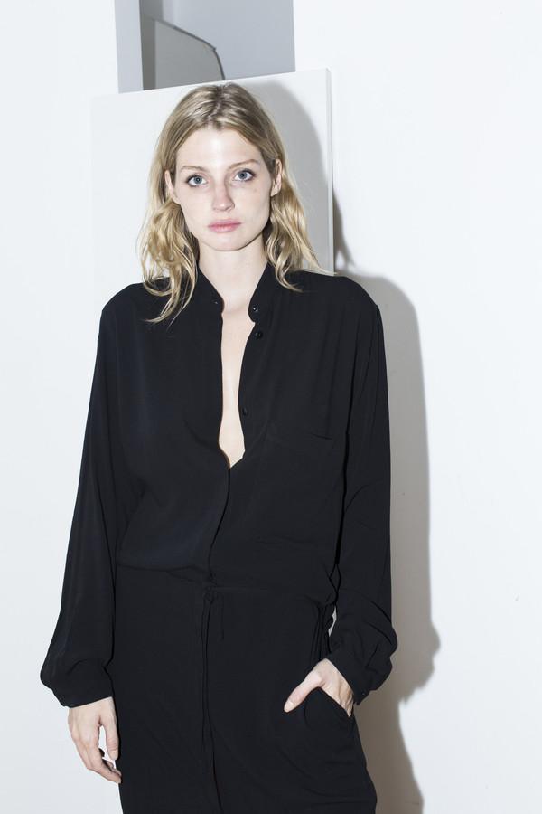 Assembly New York Black Shirt Dress