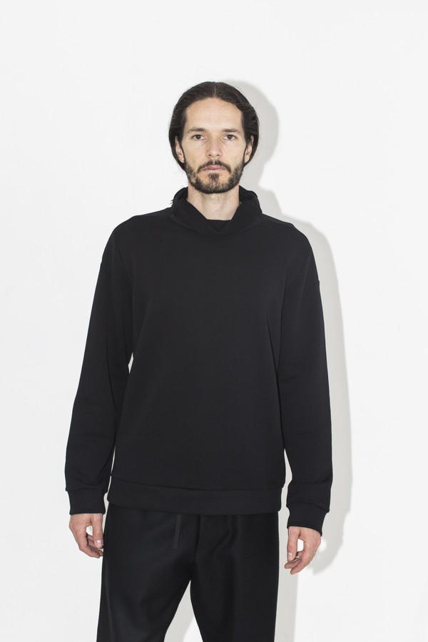 Men's Berthold Black Fleece Pullover