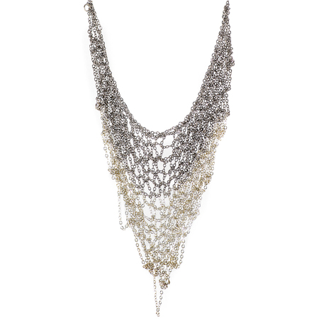 KA'KIA V-Necklace Mesh