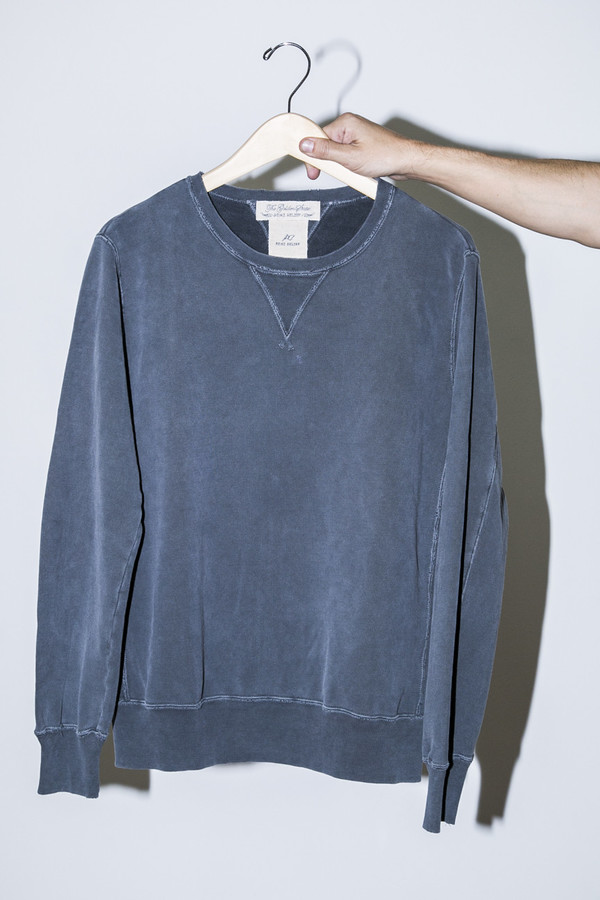 Unisex Remi Relief Charcoal Special Finished Fleece Crew