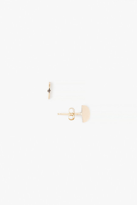 Kristen Elspeth Gold Axe Studs