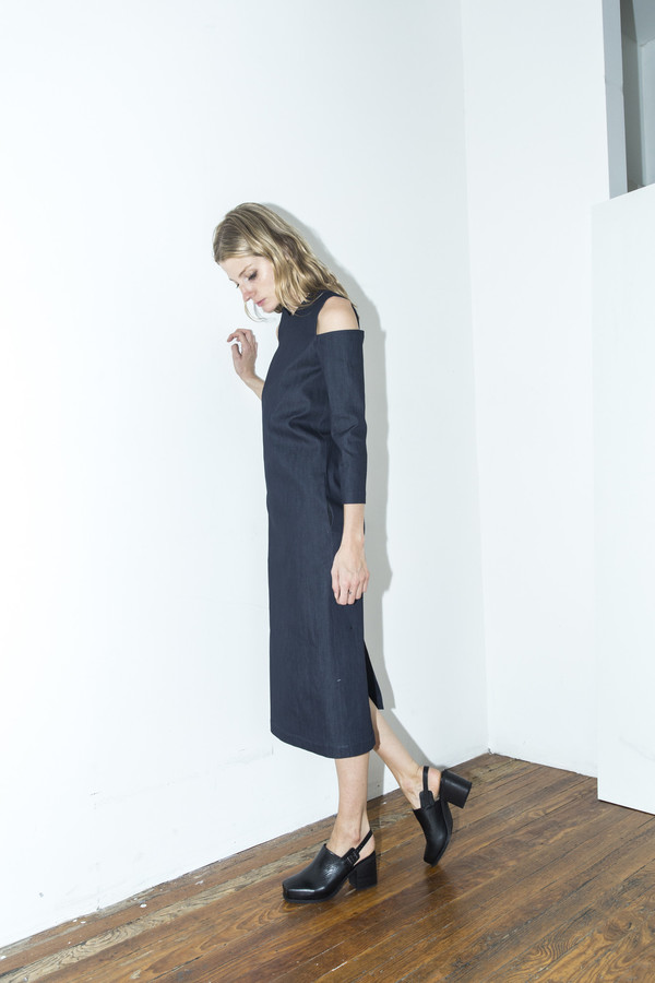 Markoo Kasha Denim Dress