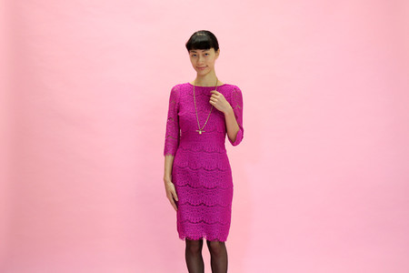 Darling Alexia Dress | Magenta