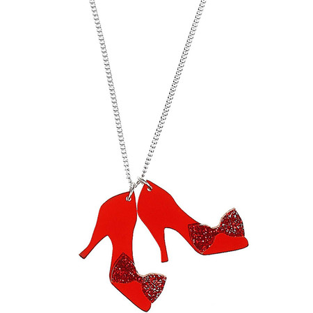 Tatty Devine Ruby Slippers Necklace