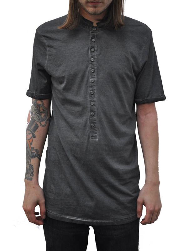Bolongaro Trevor Grey Colt Grandad Shirt
