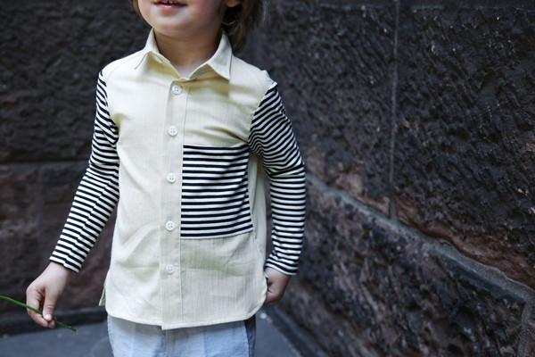 Noch Mini Knit Sleeve Shirt