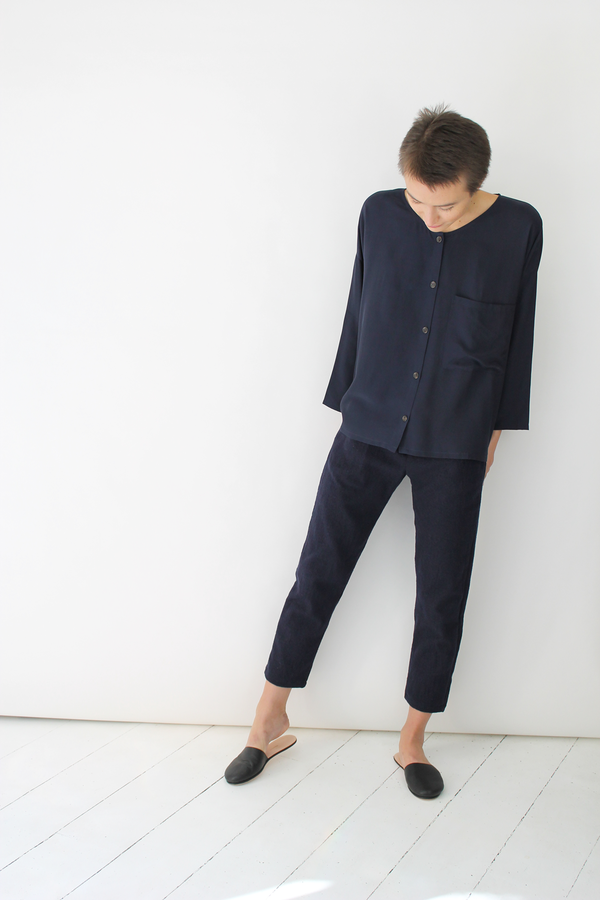Atelier Delphine lyric pants | navy