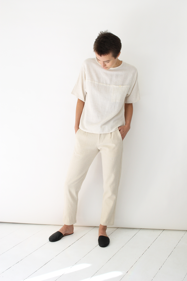 Atelier Delphine lyric pants | cream