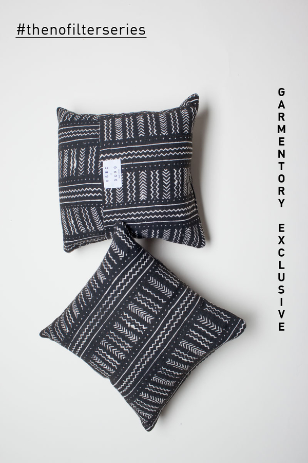 EXCLUSIVE: Osei-Duro Bogolan Cushion Cover