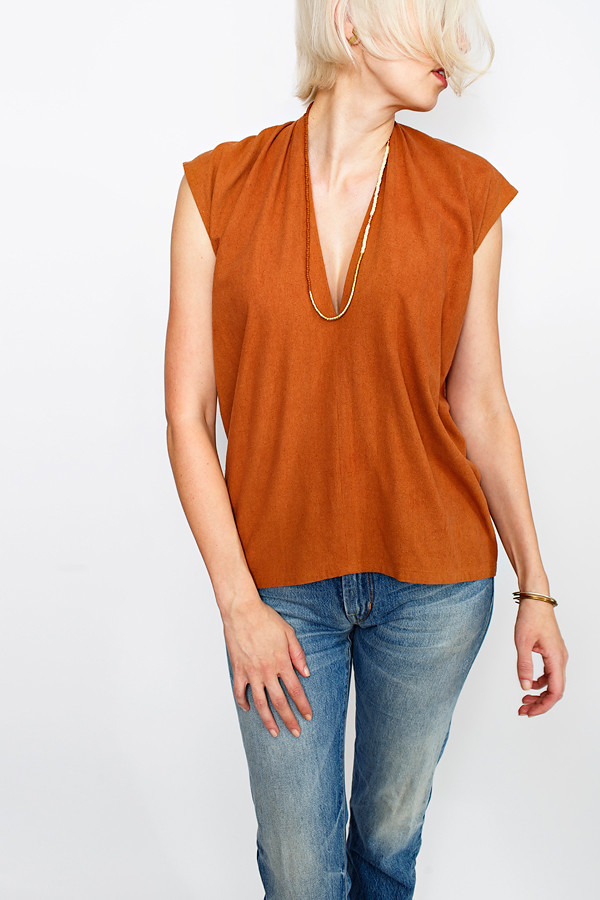 Miranda Bennett Sienna Everyday Top | Silk