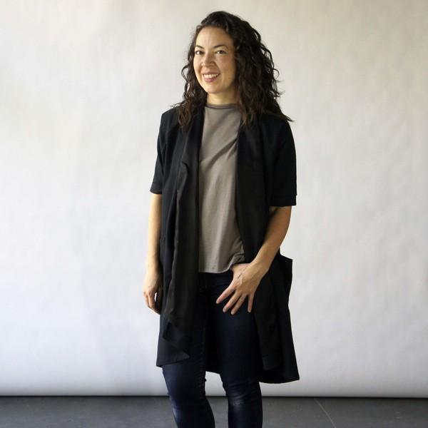 Ursa Minor Studio Gallery Wrap Dress